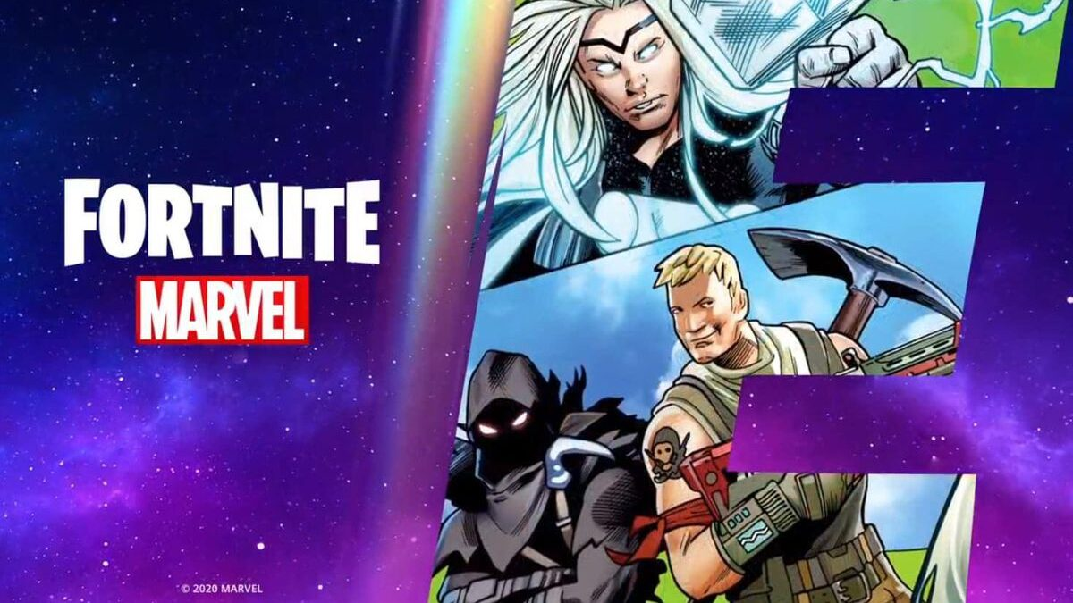 Thor Lands In 'Fortnite' In Season 4 Comic Book Teaser Part 2