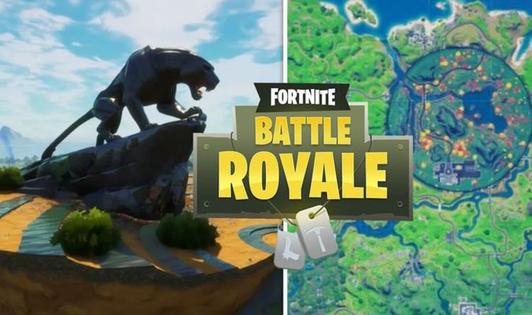 Fortnite Panther's Prowl Week 3 challenge – Map location revealed for new Marvel landmark   Gaming   Entertainment