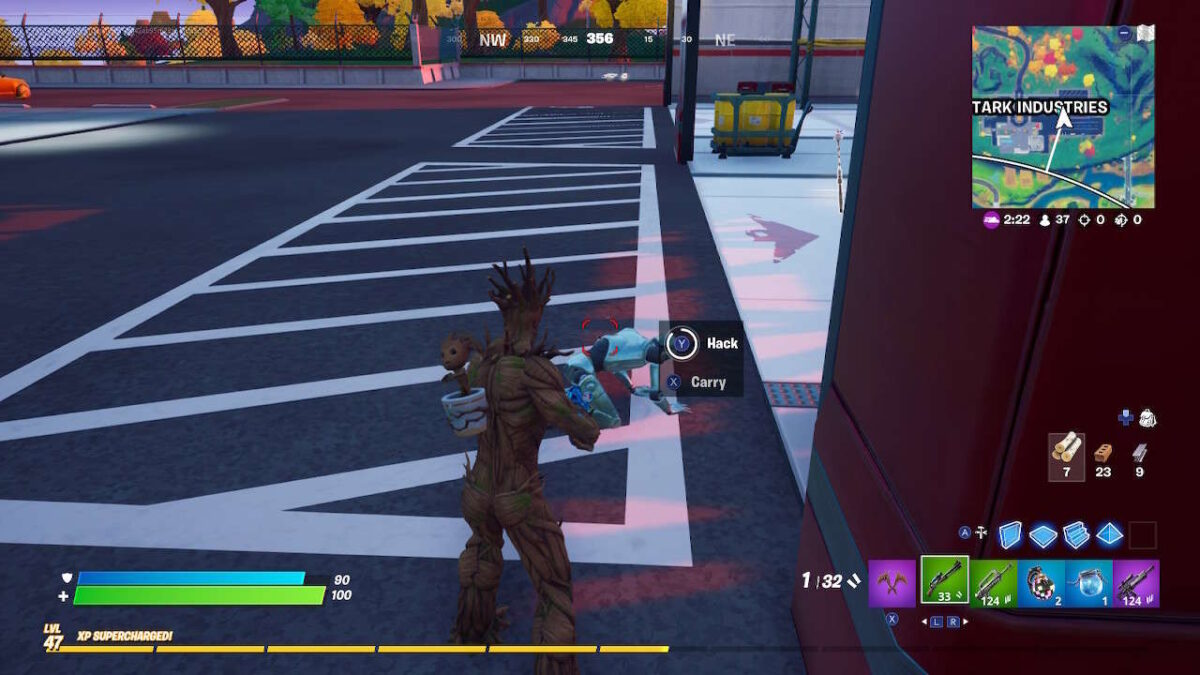 Fortnite Stark Robot Guide: How To Hack Robots At Stark Industries (Week 4)