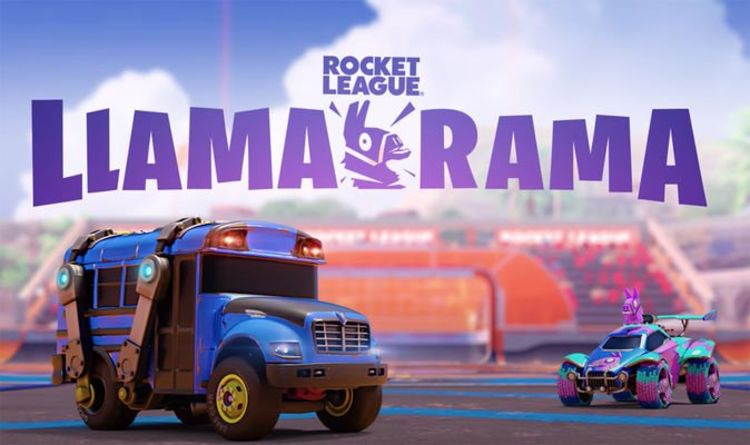 Fortnite x Rocket League Llama-Rama event date, start time, challenges, Slushii concert | Gaming | Entertainment