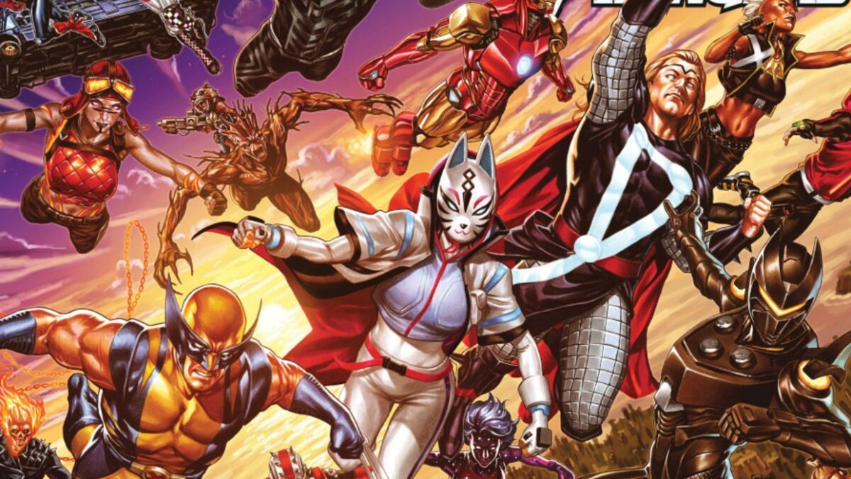 Marvel's Heroes Unite With Fortnite in Epic New Comic Art