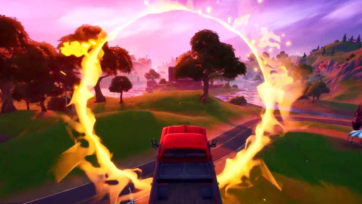 Where to Find The Flaming Ring at Salty Springs in Fortnite (Week 5 Challenge) – Screen Rant
