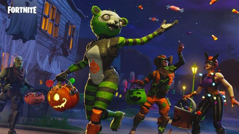 Fortnite Party Royale Has a Halloween Concert