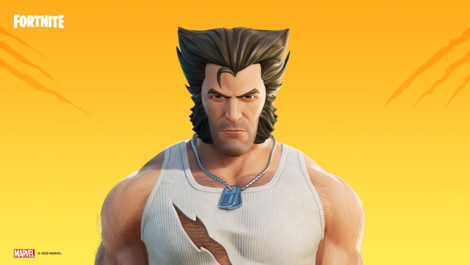 Fortnite players can now unlock Wolverine's original Logan style