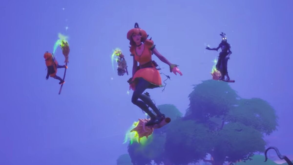 Fortnite witch broom location: Where to find one in Midas' Revenge event