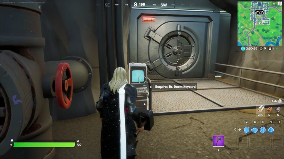 How And Where To Access Doctor Doom's Vault In 'Fortnite'