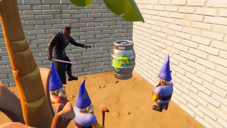 How to Disarm 5 Gnome Traps in Fortnite Season 4