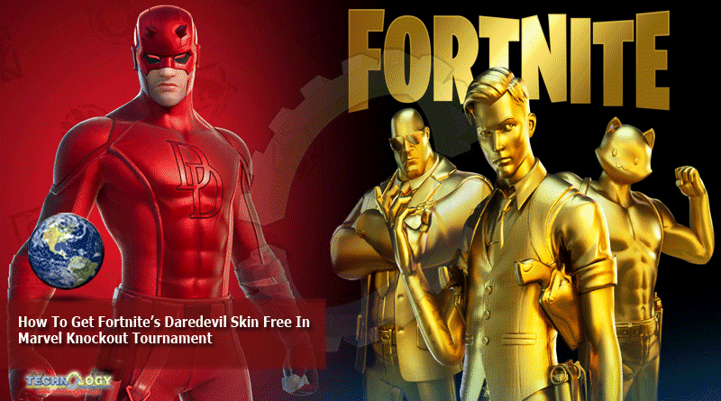 How To Get Fortnite's Daredevil Skin Free In Marvel Knockout Tournament