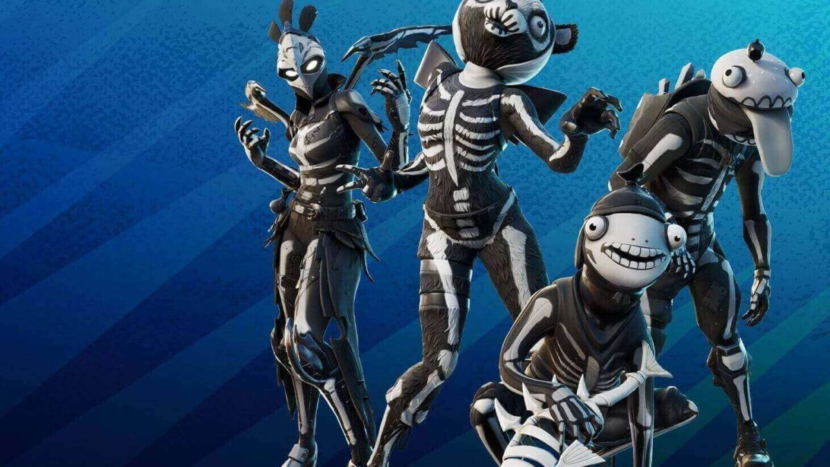 The Skull Squad pack is now available in Fortnite
