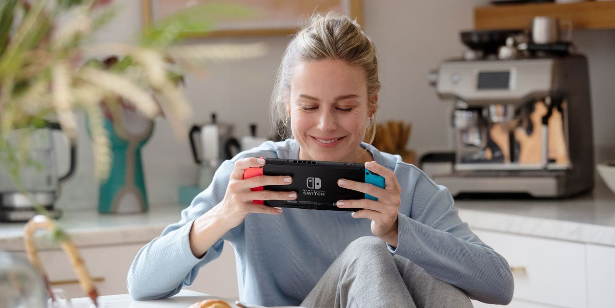 Brie Larson on Her Favorite Nintendo Switch Games and Captain Marvel Being in Fortnite