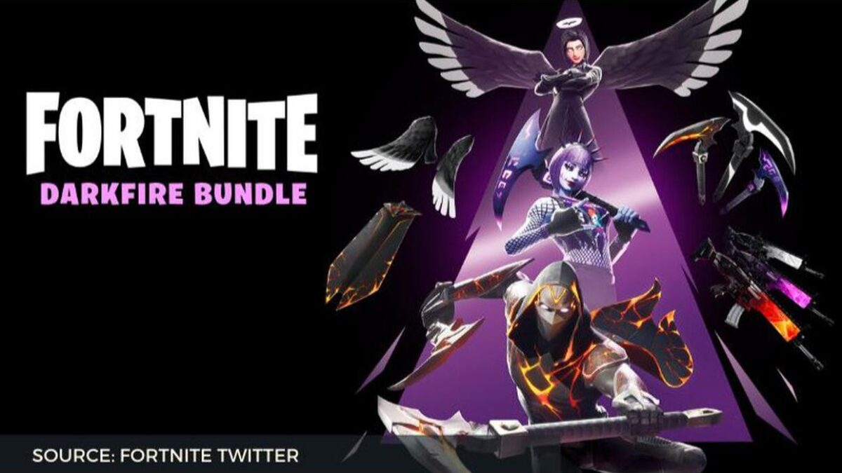 Fortnite Dark Fire Bundle is out now; learn more about Dark Fire Bundle here