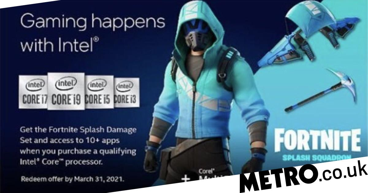 Fortnite Intel skin available now despite no official announcement