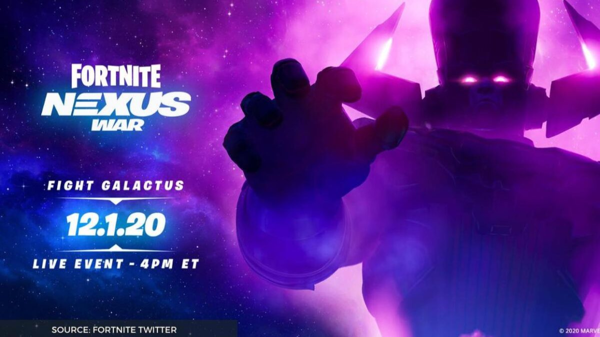 Fortnite makers add a new Galactus event, gains popularity amongst the gamers