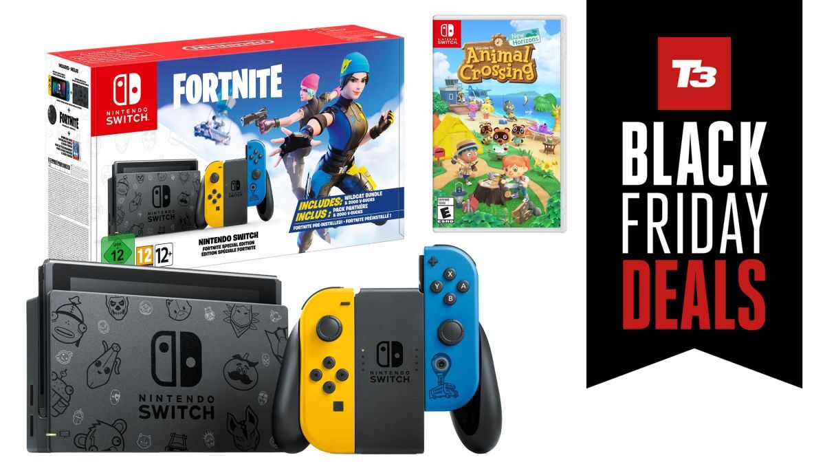 Fortnite Nintendo Switch Black Friday bundle deals are perfect Christmas gifts