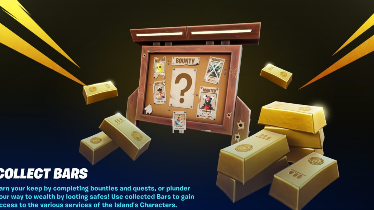Fortnite: Chapter 2 Season 5 – Where to find and use Gold Bars