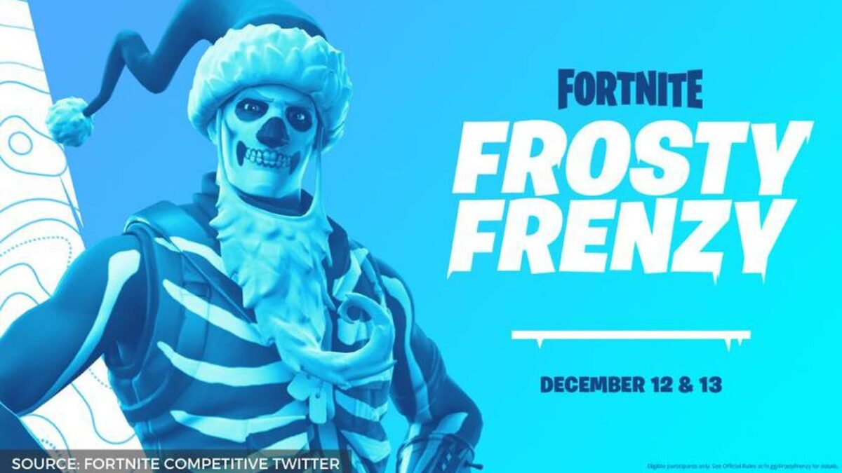 Fortnite Frosty Frenzy Tournament announced by Epic Games, offers a $5 million prize pool