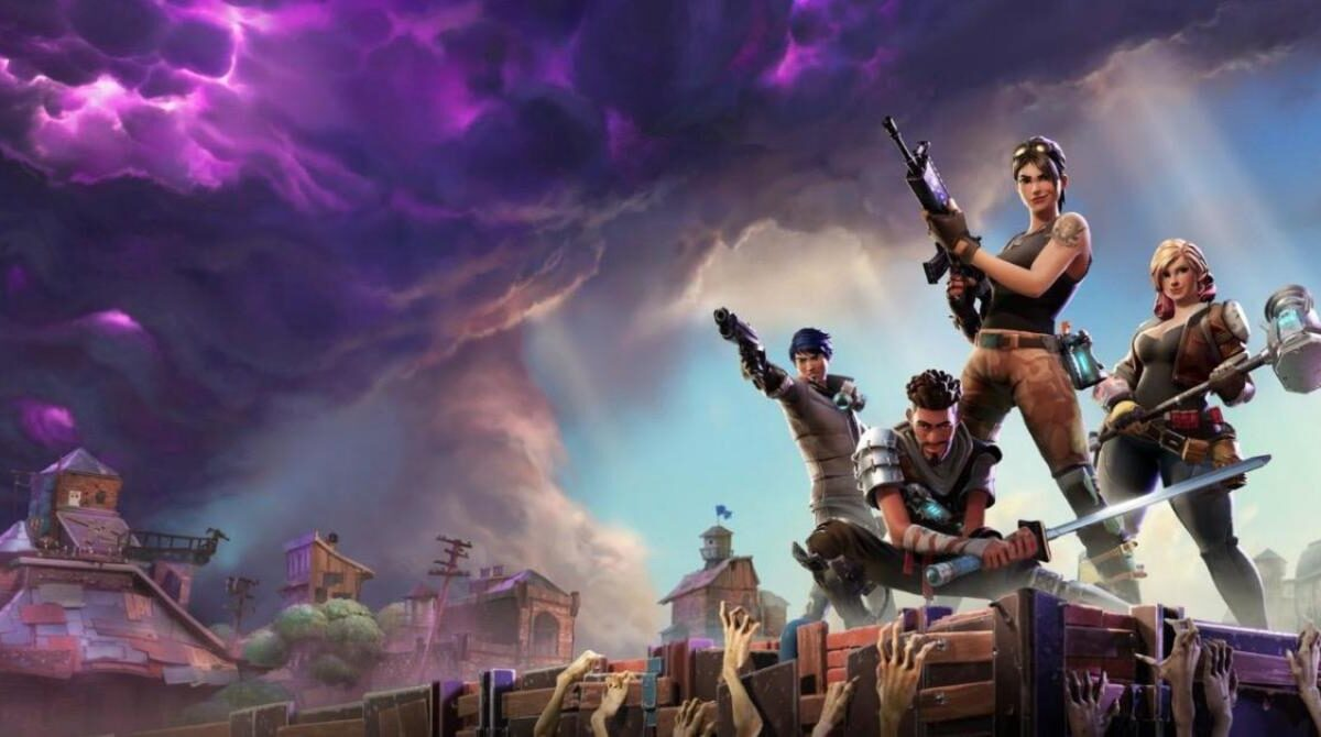 Fortnite Says Goodbye to 2020 in the Perfect Way