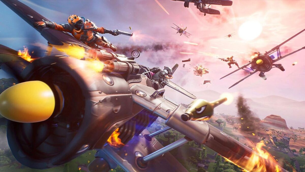 Fortnite's Next Wave Of Exotic Weapons Focus On Mobility And Healing