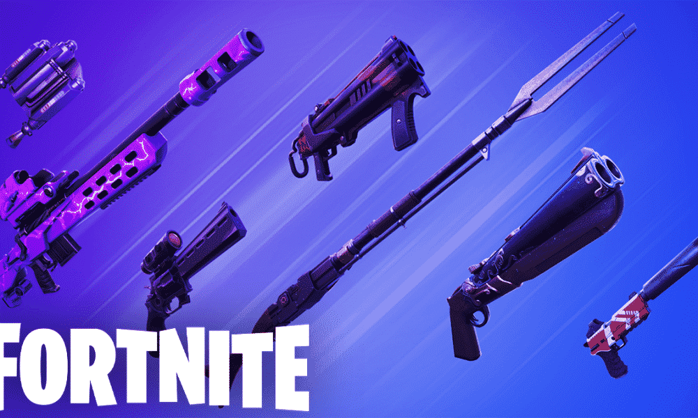 New Fortnite leak shows upcoming Exotic SMG and AR
