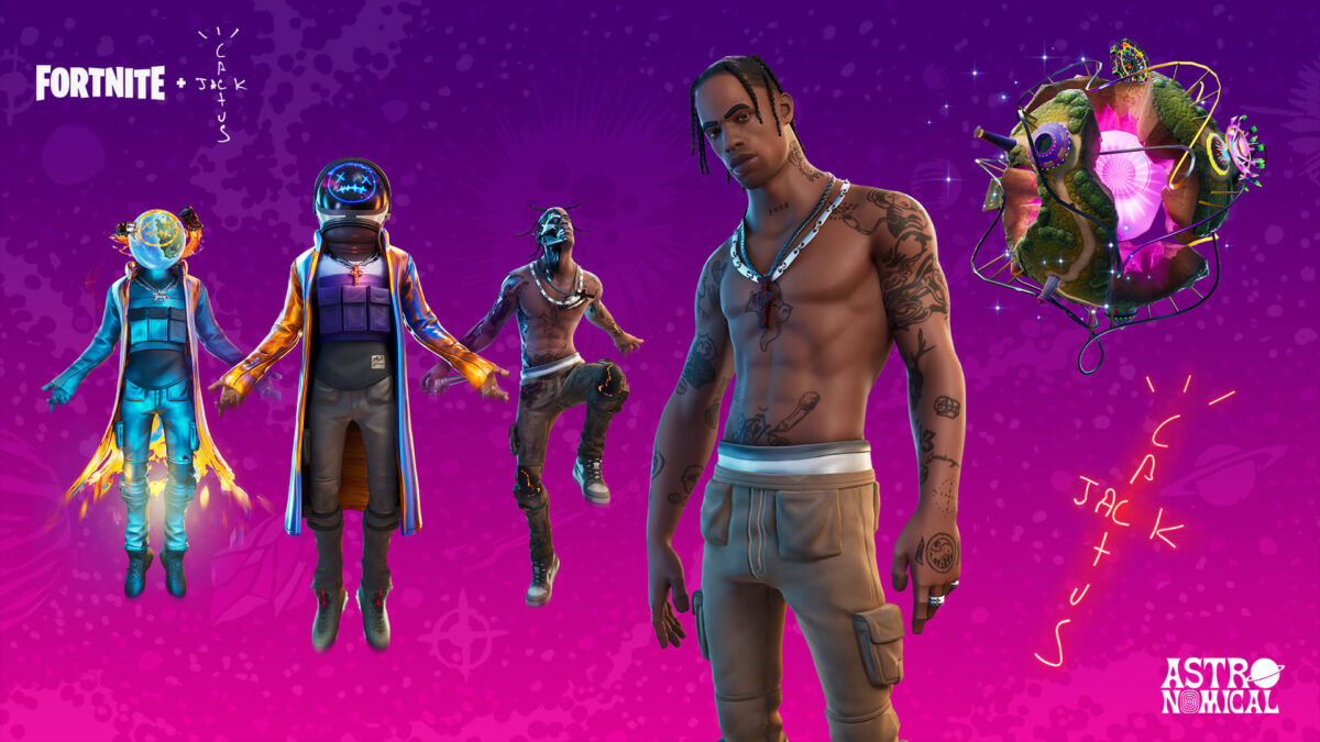 Travis Scott reportedly grossed roughly $20m for Fortnite concert appearance