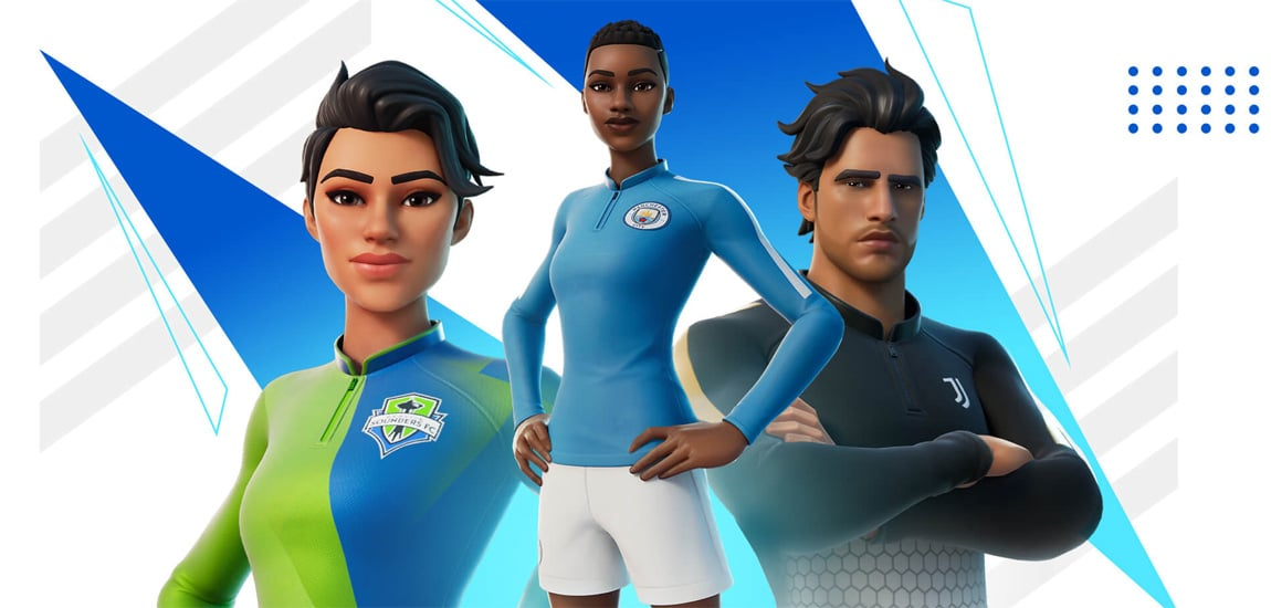 Fortnite news roundup: UK football clubs added, FNCS $20m prize pool, Man City and FaZe tournament, new Guild player Anas and content creator Gee Nelly