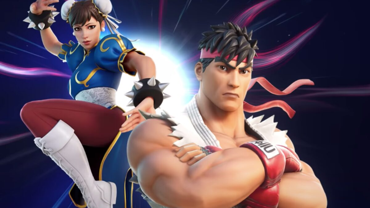 Ryu and Chun-Li from 'Street Fighter' are coming to 'Fortnite'