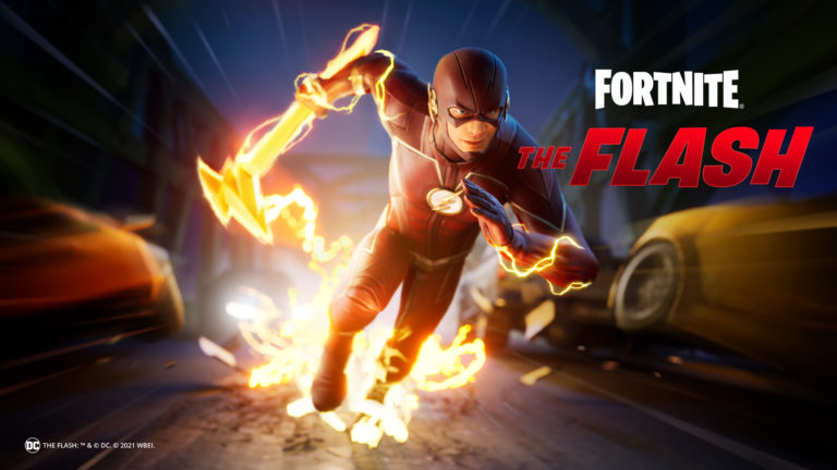 The Flash items now live in Fortnite