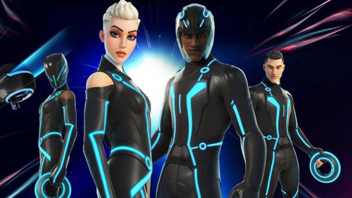 'Tron' gets a collection of items and costumes in 'Fortnite'