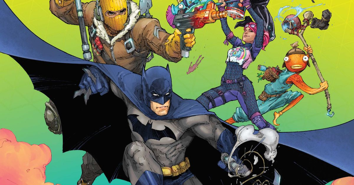 Batman/Fortnite crossover miniseries coming from DC Comics, Epic Games