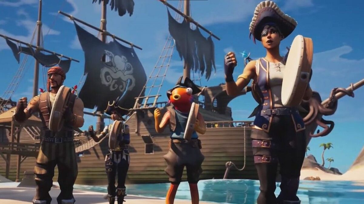 Fortnite Adding Sea Shanty Emote Probably Means the Meme Is Dead Now