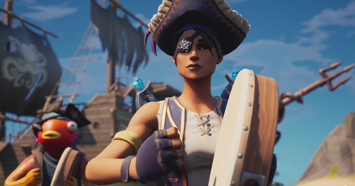 TikTok sea shanties have made their way to Fortnite with a new emote
